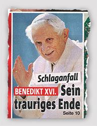 Schlaganfall - Benedikt XVI. - Sein trauriges Ende