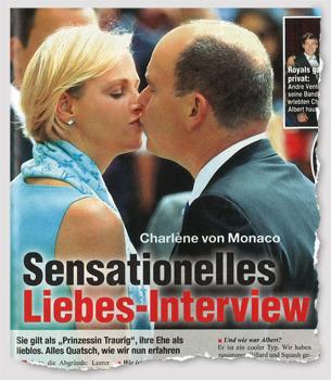 Charlène von Monaco - Sensationelles Liebes-Interview