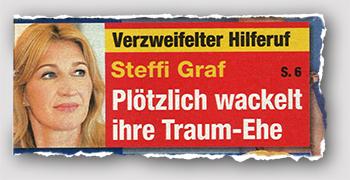 Verzweifelter Hilferuf - Steffi Graf - Plötzlich wackelt ihre Traum-Ehe