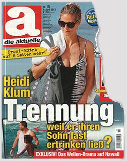 Heidi Klum - Trennung - weil er ihren Sohn fast ertrinken ließ?