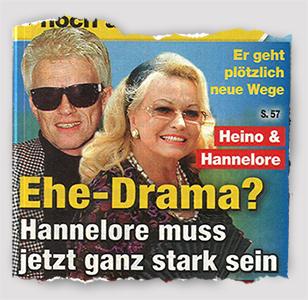 Er geht plötzlich neue Wege - Heino & Hannelore - Ehe-Drama? - Hannelore muss jetzt ganz stark sein