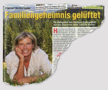 Hansi Hinterseer - Familiengeheimnis gelüftet