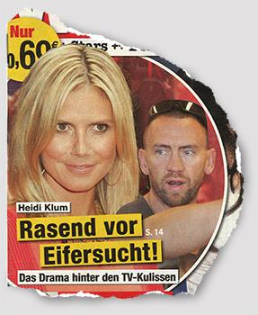 Heidi Klum - Rasend vor Eifersucht - Das Drama hinter den TV-Kulissen