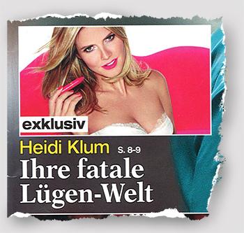 exklusiv - Heidi Klum - Ihre fatale Lügen-Welt