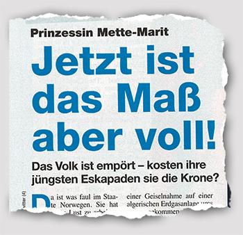 Prinzessin Mette-Marit - Jetzt ist das Maß aber voll! - Das Volk ist empört - kosten ihre jüngsten Eskapaden sie die Krone?