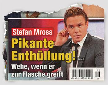 Stefan Mross - Pikante Enthüllung! Wehe, wenn er zur Flasche greift