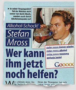 Alkohol-Schock! Stefan Mross - Wer kann ihm jetzt noch helfen?
