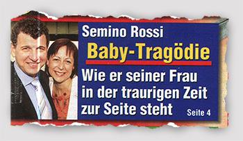 Semino Rossi - Baby-Tragödie - Wie er seiner Frau in der traurigen Zeit zur Seite steht