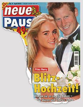 Prinz Harry - Blitz-Hochzeit! Warum sie es so eilig haben - Die Queen und Charles toben