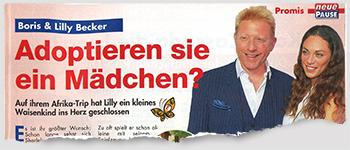 Boris & Lilly Becker - Adoptieren sie ein Mädchen?
