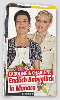 Caroline & Charlene - Endlich Babyglück in Monaco