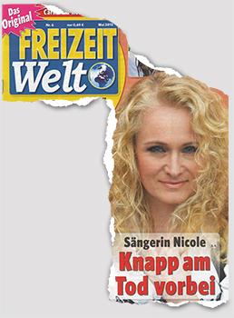 Sängerin Nicole - Knapp am Tod vorbei