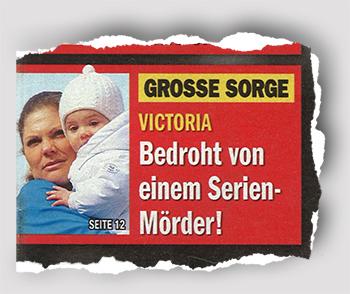 GROSSE SORGE - Victoria - Bedroht von einem Serienmörder!