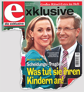 Bettina Wulff - Scheidungs-Tragödie - Was tut sie ihren Kindern an!