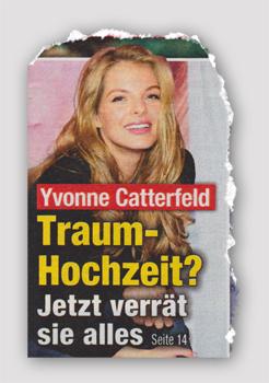 Yvonne Catterfeld - Traum-Hochzeit? Jetzt verrät sie alles