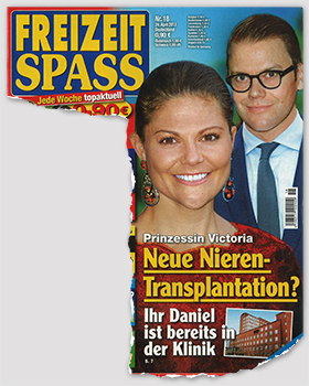 Prinzessin Victoria - Neue Nieren-Transplantation? - Ihr Daniel ist bereits in der Klinik