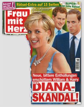 Neue, bittere Enthüllungen erschüttern William & Harry - Der Diana-Skandal!