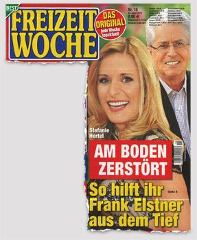 Stefanie Hertel - Am Boden zerstört - So hilft ihr Frank Elstner aus dem Tief