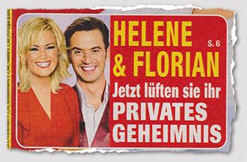 Helene & Florian - Jetzt lüften sie ihr privates Geheimnis
