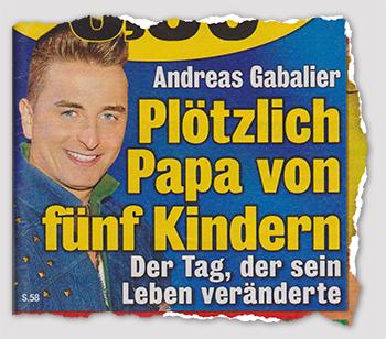Andreas Gabalier - Plötzlich Papa von fünf Kindern - Der Tag, der sein Leben veränderte