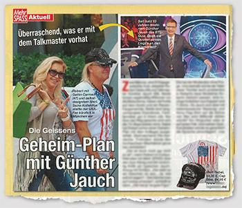 Überraschend, was er mit dem Talkmaster vorhat - Die Geissens - Geheim-Plan mit Günther Jauch