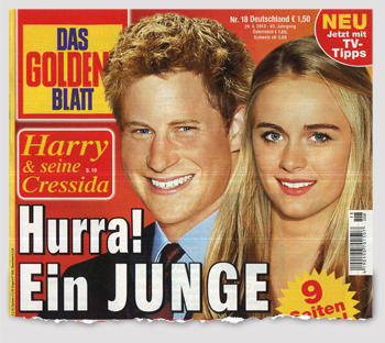 Harry & seine Cressida - Hurra! Ein Junge