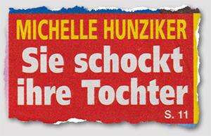 Michelle Hunziker - Sie schockt ihre Tochter