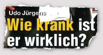 Udo Jürgens - Wie krank ist er wirklich?