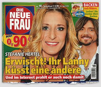 Stefanie Hertel - Erwischt! Ihr Lanny küsst eine andere - Und im Internet prahlt er auch noch damit