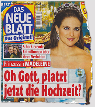 Schockierende Enthüllungen über ihren Verlobten - Prinzessin Madeleine - Oh Gott, platzt jetzt die Hochzeit?