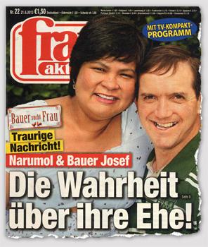 Traurige Nachricht! Narumol & Bauer Josef - Die Wahrheit über ihre Ehe!