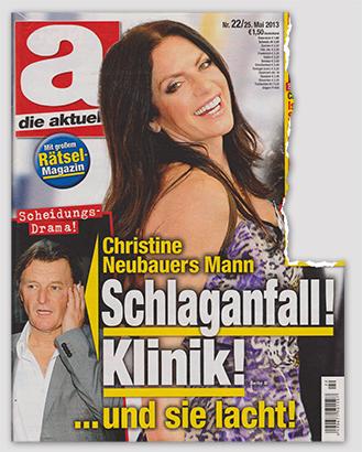 Scheidungs-Drama! - Christine Neubauers Mann - Schlaganfall! Klinik! - ... und sie lacht!