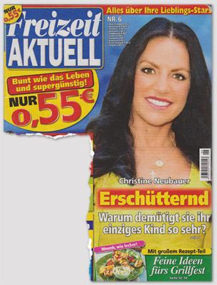 """Ausriss: """"Freizeit Aktuell"""", Nr. 6/2013"""