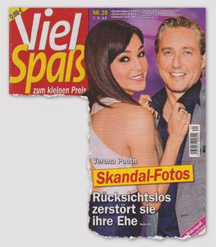 Verona Pooth - Skandal-Fotos - Rücksichtslos zerstört sie ihre Ehe