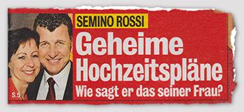 Semino Rossi - Geheime Hochzeitspläne - Wie sagt er das seiner Frau?