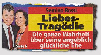 Semino Rossi - Liebes-Tragödie - Die ganze Wahrheit über seine angeblich glückliche Ehe