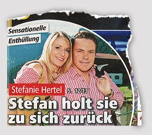 Sensationelle Enthüllung - Stefanie Hertel - Stefan holt sie zu sich zurück