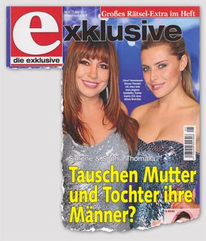 Simone & Sophia Thomalla - Tauschen Mutter und Tochter ihre Männer?