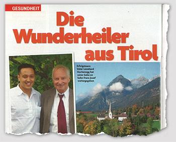 Die Wunderheiler aus Tirol