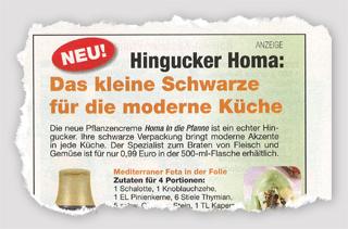 Anzeige - Hingucker Homa: Das kleine Schwarze für die moderne Küche