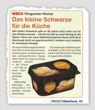 Hingucker Homa: Das kleine Schwarze für die moderne Küche