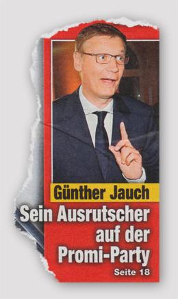 Günther Jauch - Sein Ausrutscher auf der Promi-Party