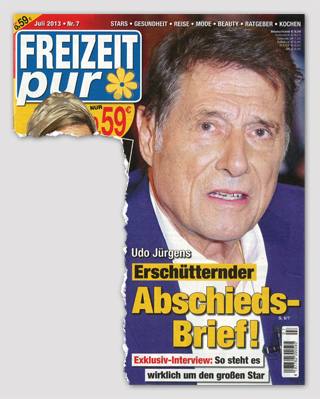 Udo Jürgens - Erschütternder Abschieds-Brief! Exklusiv-Interview: So steht es wirklich um den großen Star