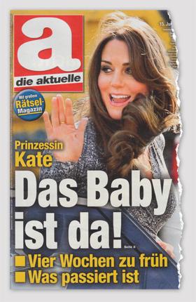 Prinzessin Kate - Das Baby ist da! Vier Wochen zu früh - Was passiert ist