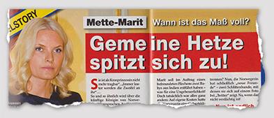 Mette-Marit - Wann ist das Maß voll? - Gemeine Hetze spitzt sich zu!