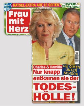 Die Queen unter Schock - Charles & Camilla - Nur knapp entkamen sie der Todes-Hölle!