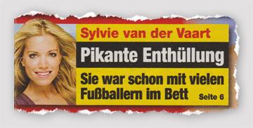 Sylvie van der Vaart - Pikante Enthüllung - Sie war schon mit vielen Fußballern im Bett