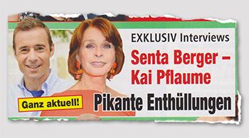 Ganz aktuell! - EXKLUSIV Interviews - Senta Berger - Kai Pflaume - Pikante Enthüllungen