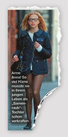 """Arme Anna! So viel Häme musste sie in ihrem jungen Leben als """"Samenraub""""-Tochter schon verkraften"""