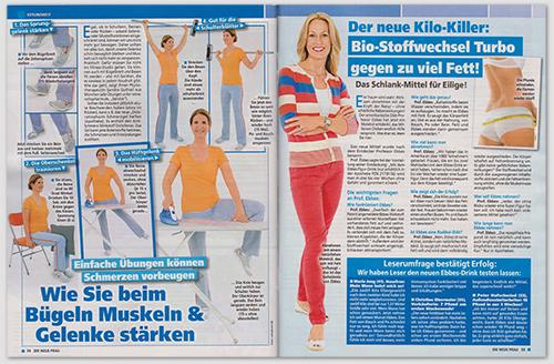 Der neue Kilo-Killer: Bio-Stoffwechsel-Turbo gegen zu viel Fett! Das Schlank-Mittel für Eilige!
